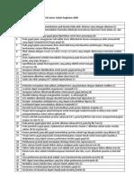 Soal Formatif 2 Modul Ginjal Dan Cairan Tubuh Angkatan 2009