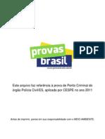 Prova Objetiva Perito Criminal Policia Civil Es 2011 Cespe[1]
