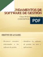 I.1) Fund. Sw de Gestión. Conceptos Básicos.-