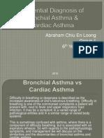 Bronchial Asthma & cardiac asthma