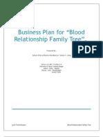 BloodRelationshipTreeBusinessPlan1.0
