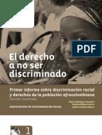 El Derecho a No Ser Discriminado-Observatorio