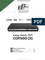 Manual EHomeTDTComboDS