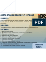 Curso de Canalizaciones Electricas