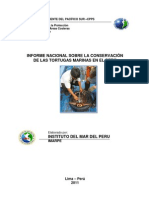 025.Informe Tortugas Marinas Peru