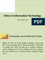 Solutions to Ethics in IT