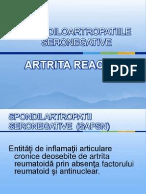 artrita reactiva tablou clinic stand franare clasa 2