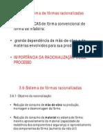 Aula 09 CC-Estrut e Forma Racionalizada [Modo de Compatibilidade]