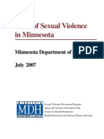 Minnesota on Cost of Child Abuse and Neglect Data