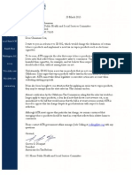 Grover Norquist's Americans for Tax Reform Letter in Opposition to SB 802 (E-cigarette Tax)