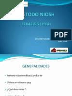 PRESENTACION METODO NIOSH