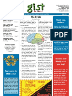 Gist Weekly Issue 16 - The Brain