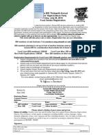 Food Vendor Registration Form 2013