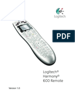 Logitech Harmony600 User Guides