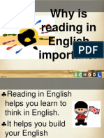 Why is Reading in English Important