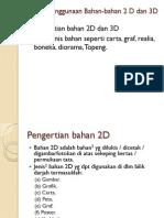Bahan 2D dan 3D