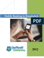 Mobile Banking in Bangladesh