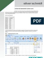 Using EXCEL to Define the Hammerlink Custom Curve Parameters