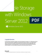 Flexible Storage With Windows Server 2012