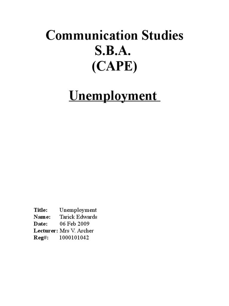 Economics research paper format