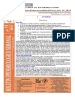 Boletín Semana Epidemiológica 11-2013