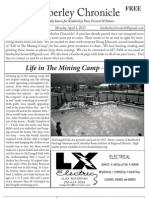 Kimberley Chronicle Volume 26! Life in The Mining Camp - Part 2.