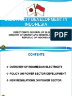 Electricity Development in Indonesia