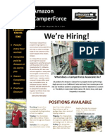 CamperForce Recruiting Handout
