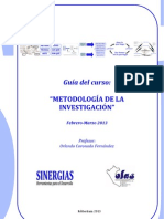 GUÍA M1 DEL CURSO METODOLOGÍA DE LA INVESTIGACIÓN