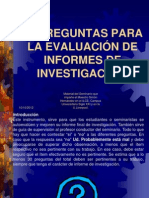 La_evaluacion de La Investigacion