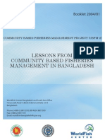 Lessons From CBFM in Bangladesh