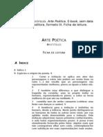 A000a Aristóteles, Arte poética, f. de l.