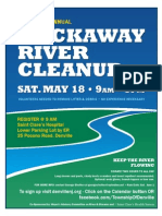 2013 River Clean Up Flyer