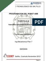 Proyecto Programacin Robot Abb