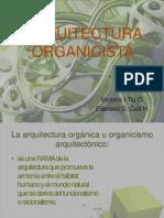 ARQUITECTURA ORGANICISTA