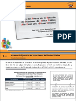 Inversiones Primer Trimestre 2013