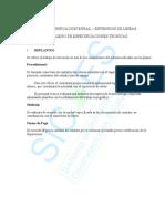 ELECTRIFICACION RURAL – EXTENSIÓN DE LÍNEAS