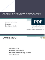 Analisis Financiero Grupo Carso