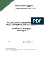 Valoracion Economica Conservacion Suelos San Dionisio[1]