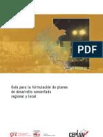 Guia Para Formulacion de Planes de Gobierno Regional y Local