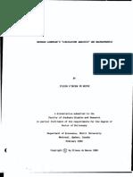 De Neeve - Bernard Lonergan' s 'Circulation Analysis' and Macrodynahics (Phd Thesis)