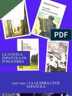 La novela española de posguerra