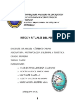 Rito y Rituos Del Peru
