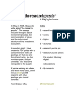 "a guide to ""the research puzzle"""
