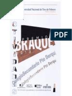 Actividades Premio Braque 2013