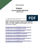 19037072 Bernard Dupriez Gradus Les Procedes Litteraires 1984 v0