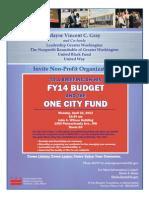Townhall Nonprofits 2014 Update