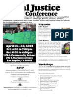 2ND ANNUAL CEJ/PEAC Social Justice Schools Conference