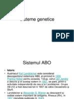 Sisteme genetice eritrocitare