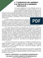 DEGENERACIÓN DEL GOBIERNO MASISTAS EXPRESA BARBARIE  DEL CAPITALISMO.docx